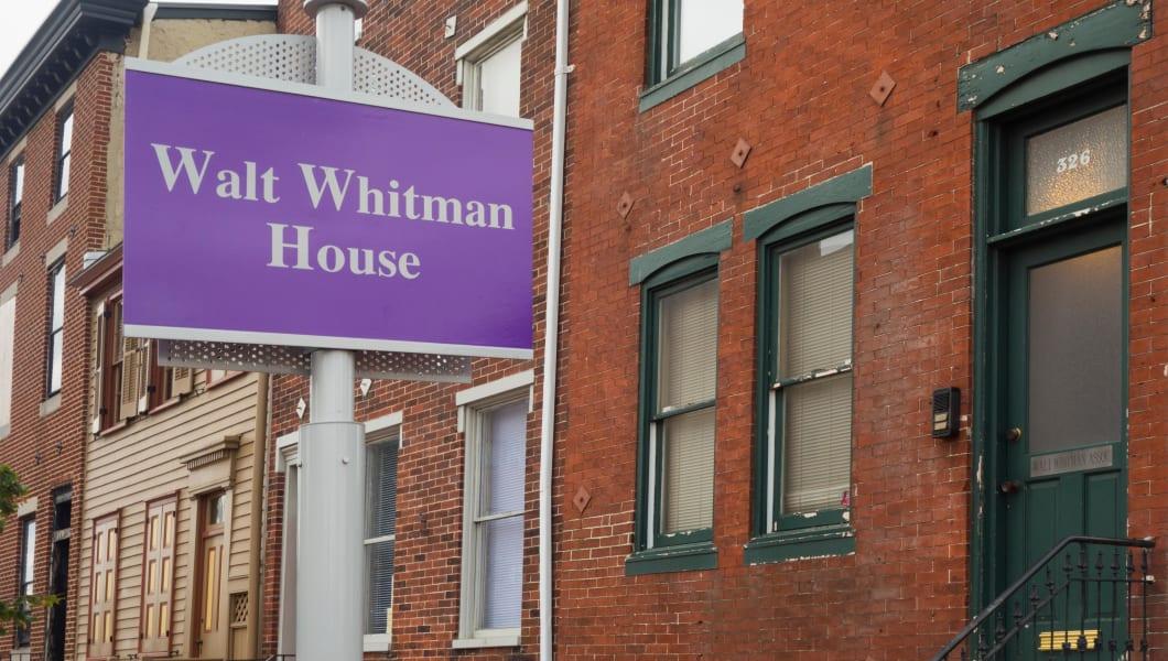 Walt Whitman house Camden NJ