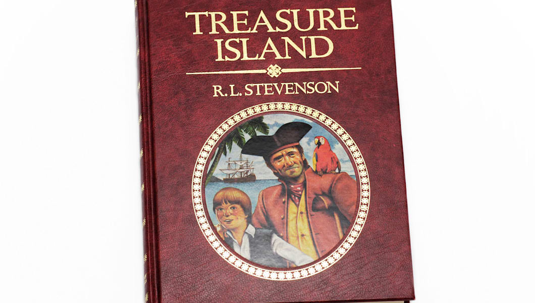 an analysis of the topic of the treasure island book by robert lewis stevenson The muppet treasure island is such a great film it's hilarious this book was much more serious the pirates in here aren't singing toys they're hardened however, i confess that for me the novel by robert louis stevenson, reread years later (this time is a bedtime reading for my daughter), has lost.
