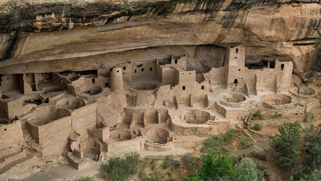 cliff palace at mesa verde...