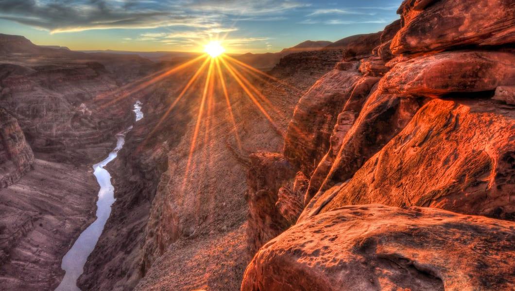 toroweap  sunset  grand canyon...