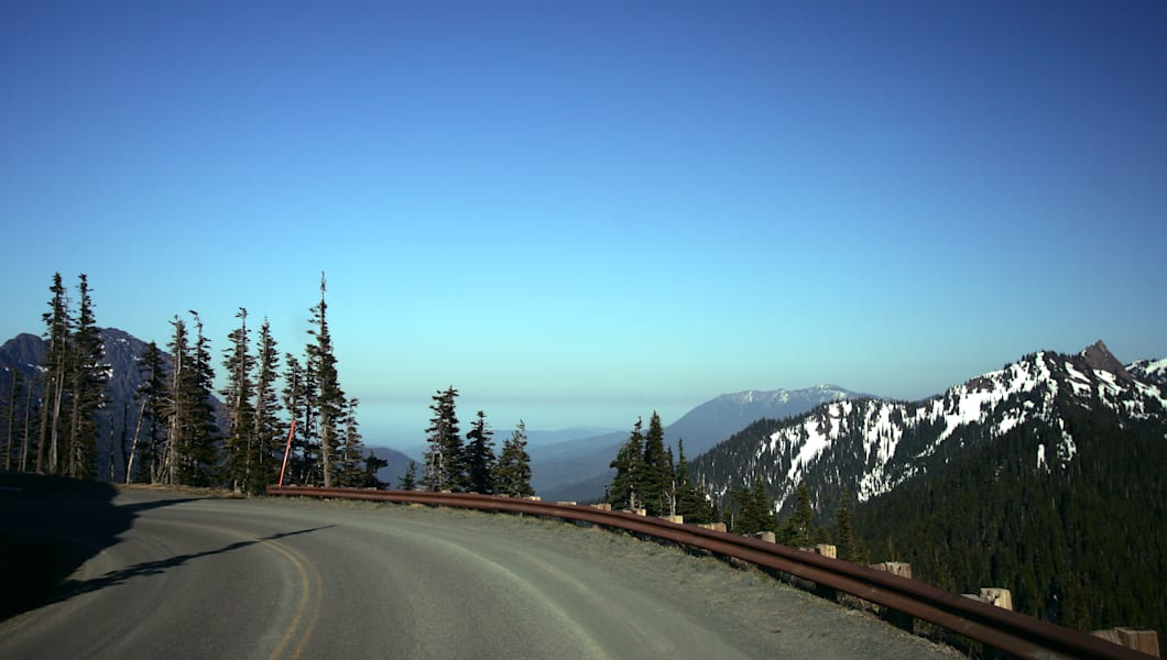 Road to Hurricane Ridge, Olympic National Park, WA
