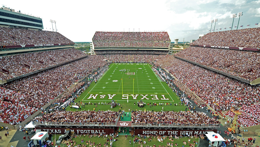 Top 5 college football cities in america for Top 5 best cities in usa