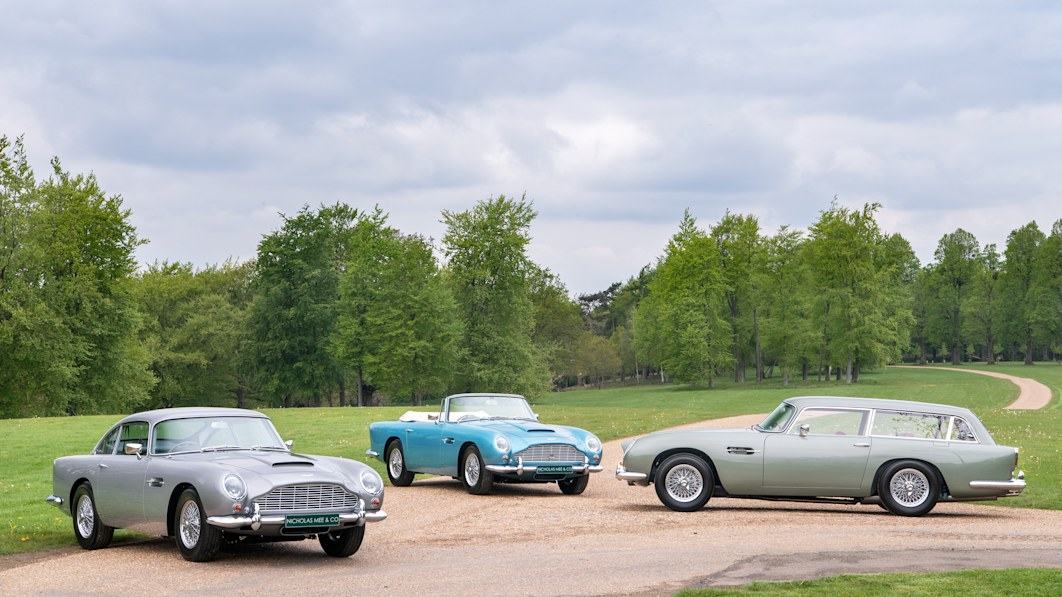 Aston Martin DB5 Vantage trio for sale, and they're as rare as rare gets