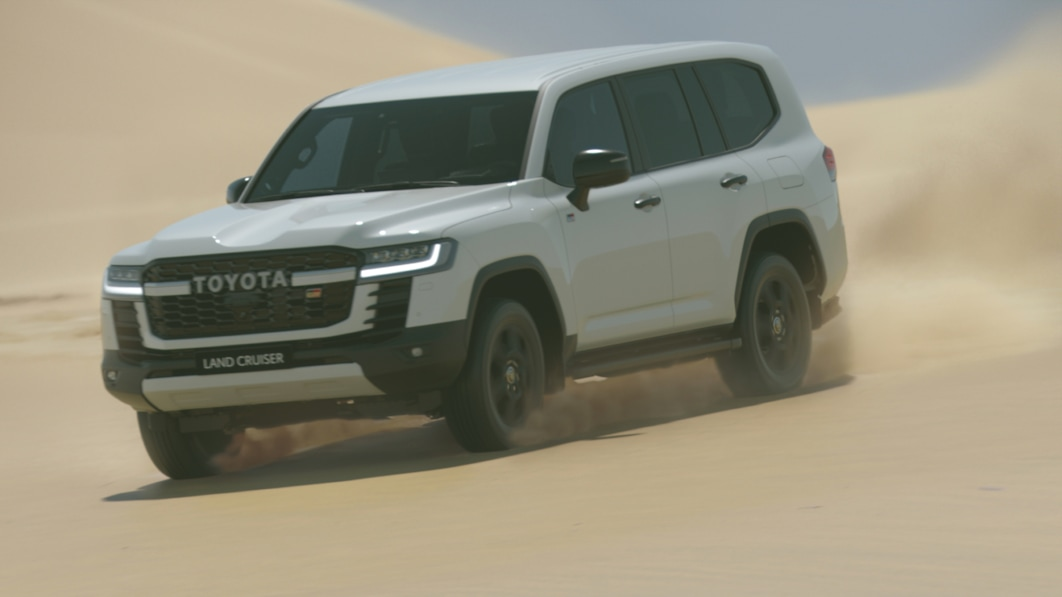 Watch the 2022 Toyota Land Cruiser reveal