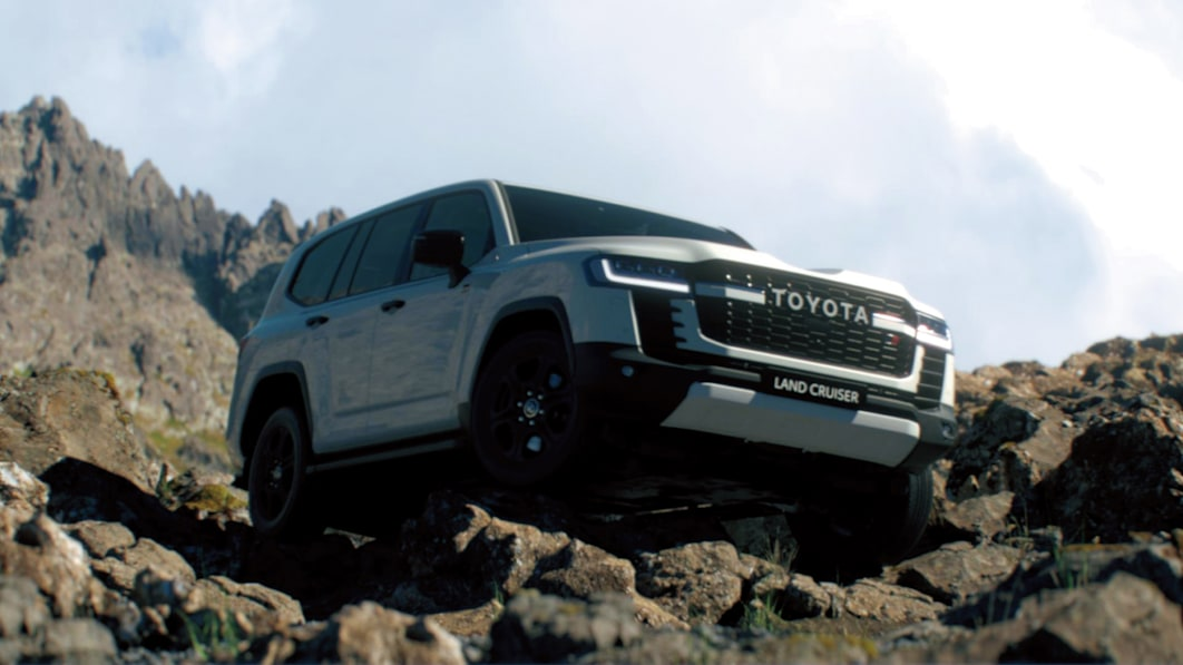 Toyota details new Land Cruiser's on- and off-road features