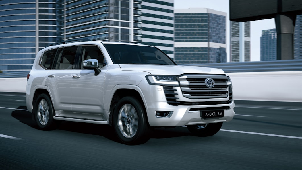 New Toyota Land Cruiser debuts with twin-turbocharged V6 engines