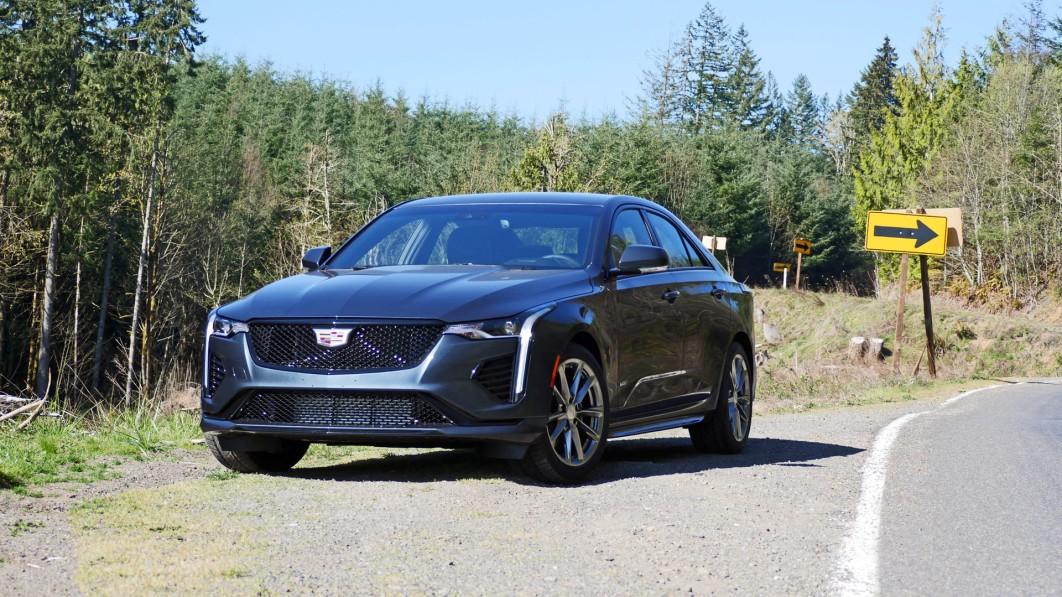 2021 Cadillac CT4-V Road Test Review | V is for Deja Vu