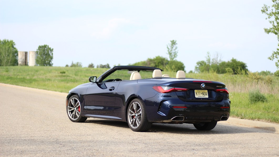 2021 BMW 4 Series Convertible First Drive | Soft top for the softer 4 Series