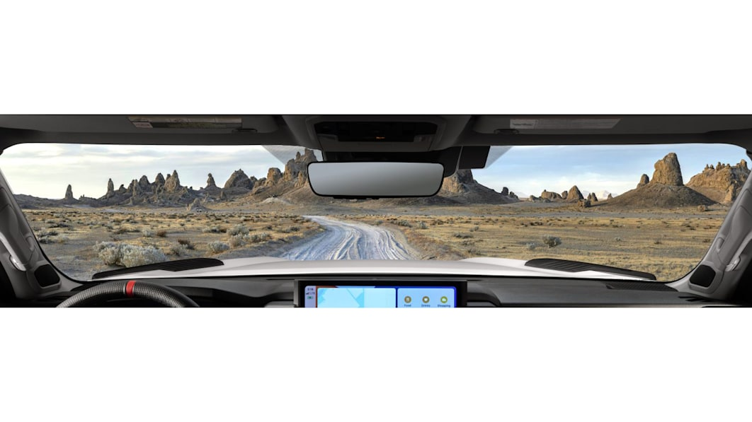 Toyota Tundra's 2022 interior teased, barely