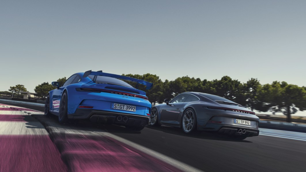 Manual 2022 Porsche 911 GT3 and GT3 Touring can now be sold in California