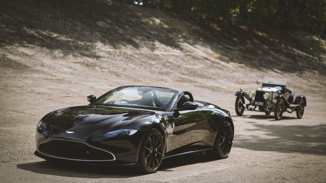 Aston Martin Vantage Roadster limited edition gets 100-year-old styling cues
