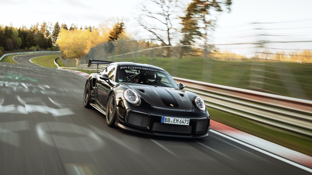 Porsche 911 GT2 RS with Manthey kit sets Nurburgring production car lap record