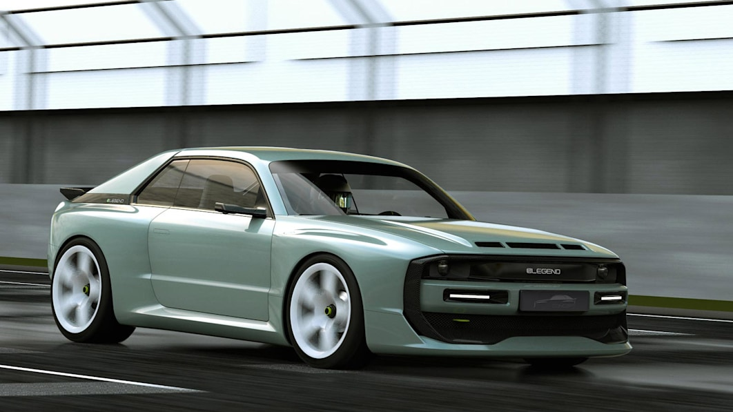 ELegend EL1 is an electric homage to the Audi Quattro S1