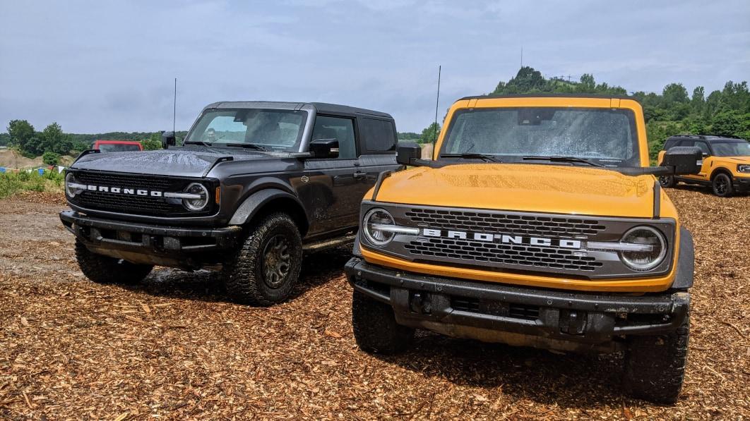 Ford Bronco 2022: Drei neue Farbtöne sind im Kommen