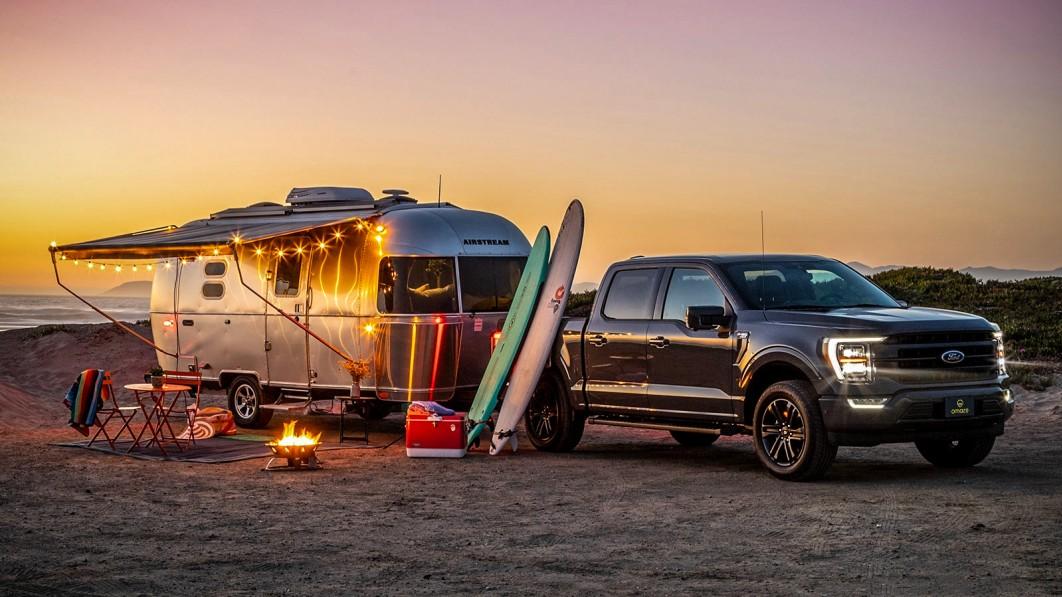Gewinnen Sie einen Airstream Caravel und einen Ford F-150 aus dem Jahr 2021