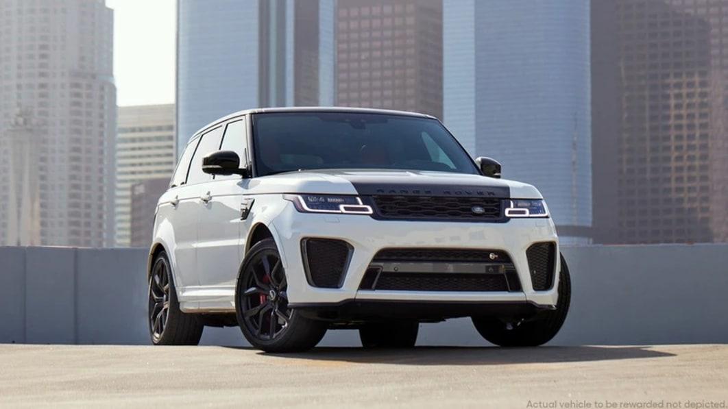 Gewinnen Sie den schnellsten Land Rover aller Zeiten, den Range Rover Sport SVR 2021