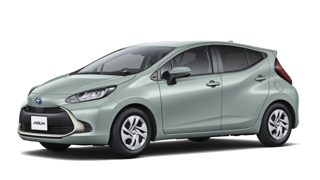Toyota's redesigned Aqua hybrid probably won't revive the Prius C