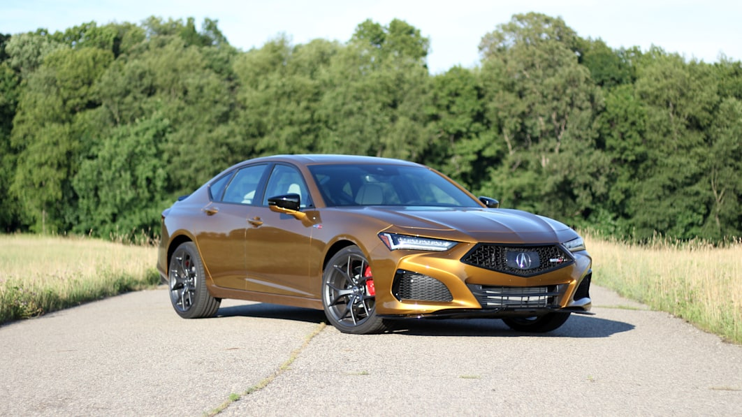2021 Acura TLX Type S Road Test Review | Golden and glorious