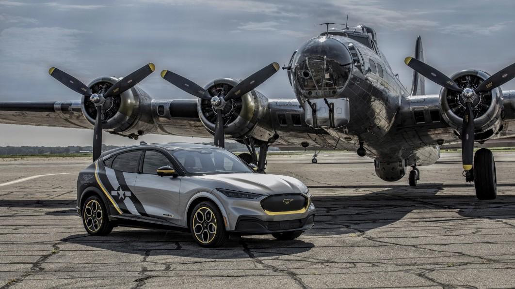 Ford Mustang Mach-E zum Gedenken an die Pilotinnen der Luftwaffe im Zweiten Weltkrieg