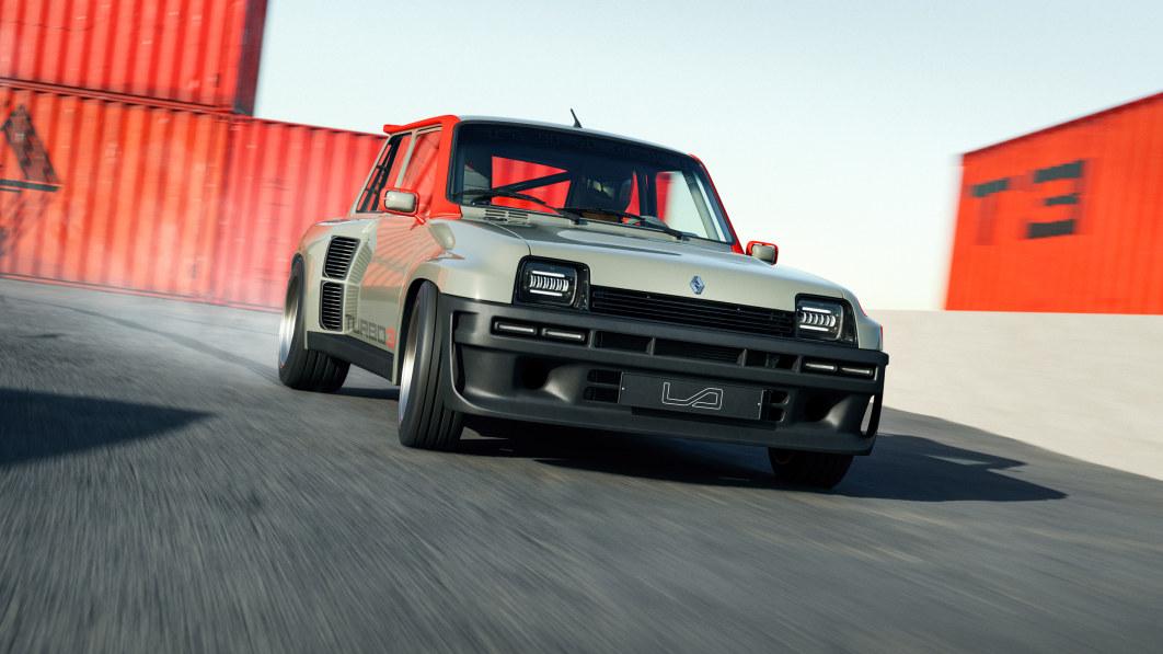 Wiedergeburt des Renault 5 Turbo mit 400-PS-Motor und Kohlefaser-Karosserie