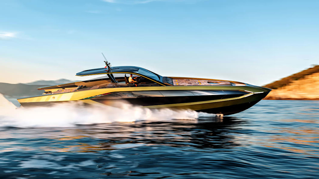 Lamborghini Tecnomar 63 Yacht: Rasendes Boot