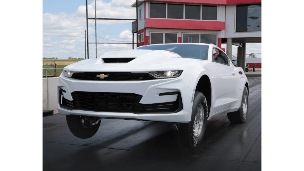 Chevrolet lässt den Big Block für seinen COPO Camaro 2022 wieder aufleben