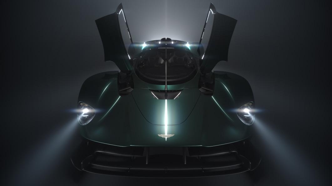 Aston Martin Valkyrie wird in Pebble Beach mit Roadster-Variante sein Dach verlieren