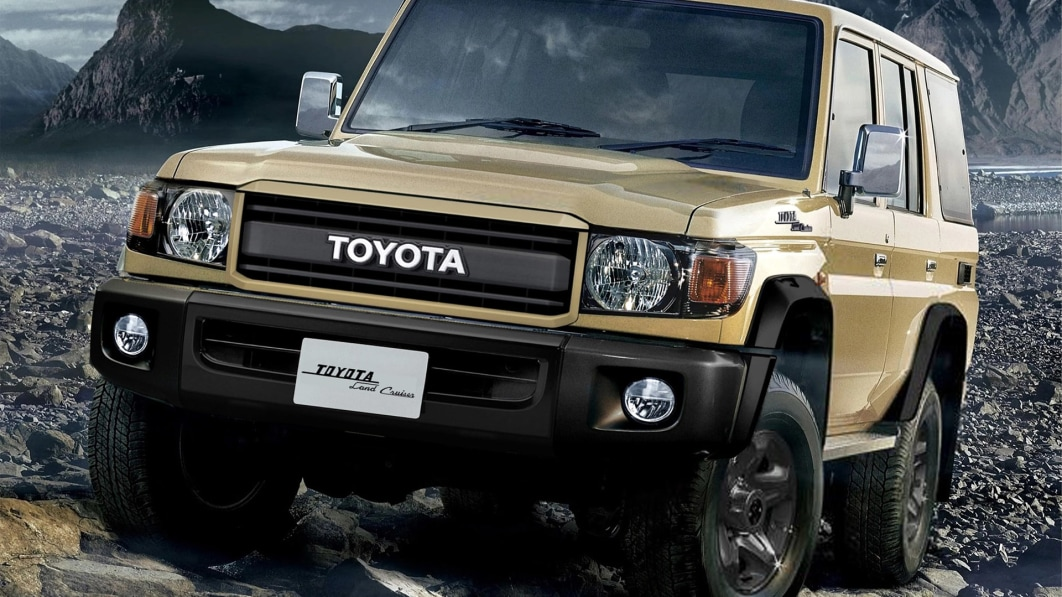 Toyota celebrates the Land Cruiser's 70th birthday with retro-flavored model