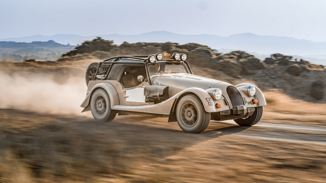 Morgan Plus Four CX-T Offroader verkörpert die Rallye-Wurzeln des Unternehmens