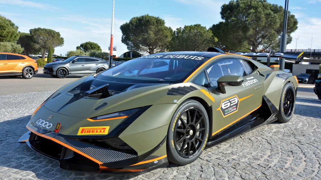 Lamborghini kurz vor dem Einstieg in die LMDh-Klasse in der IMSA