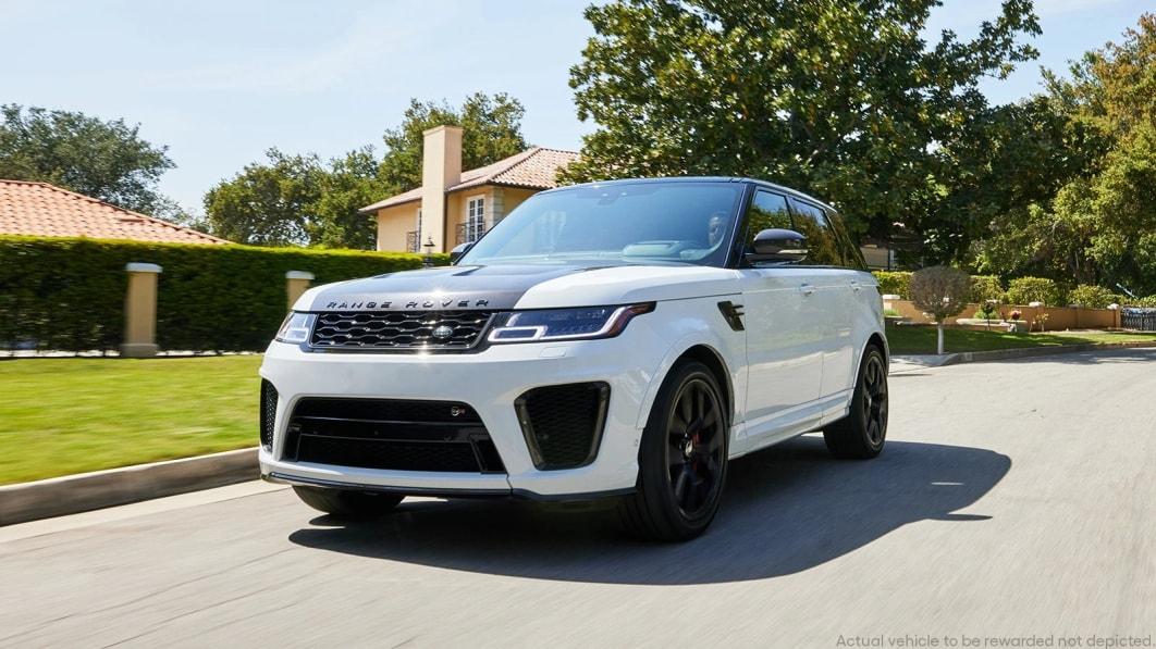 Das ist Ihre letzte Chance, den schnellsten Land Rover zu gewinnen, einen Range Rover Sport SVR