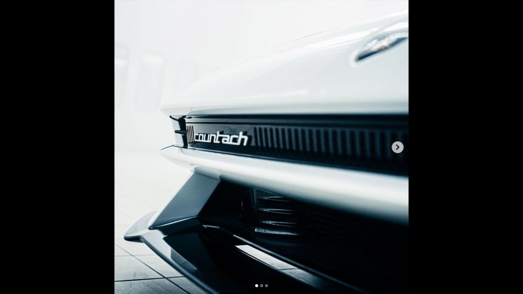 Neuer Lamborghini Countach erneut mit drei Bildern angeteasert