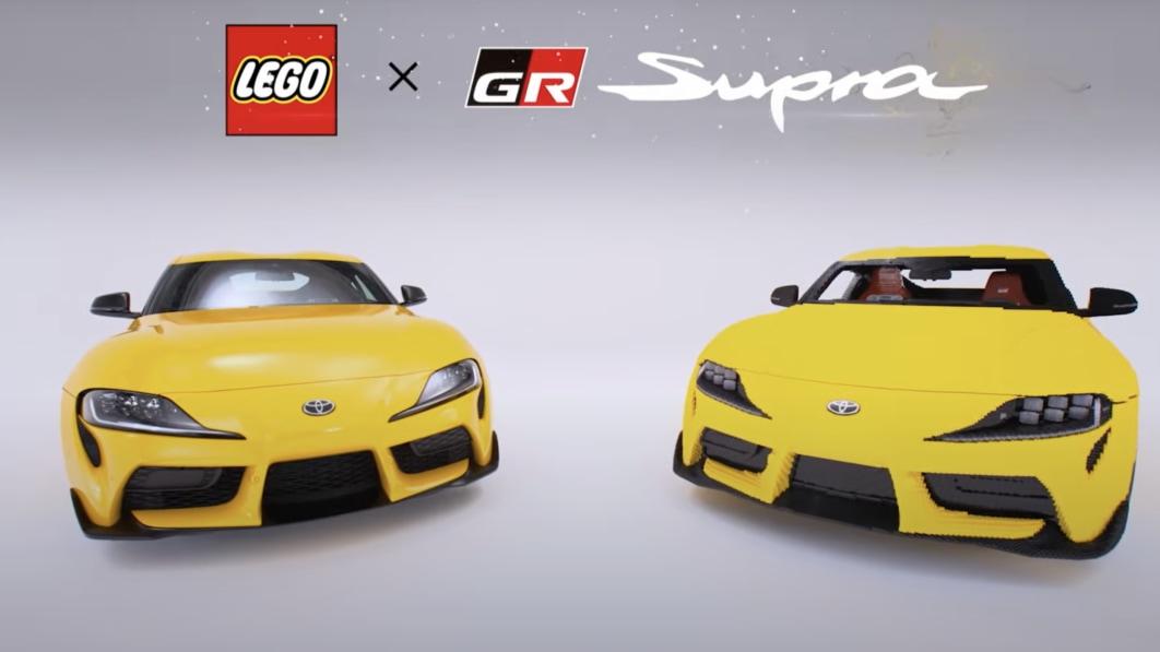 Lego enthüllt in Japan eine Nachbildung des Toyota Supra in Originalgröße