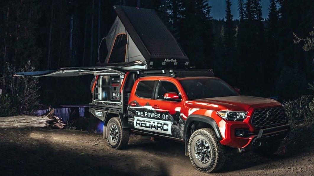 Redarc Toyota Tacoma Überlandfahrzeug elektrisiert Ihre Outdoor-Abenteuer