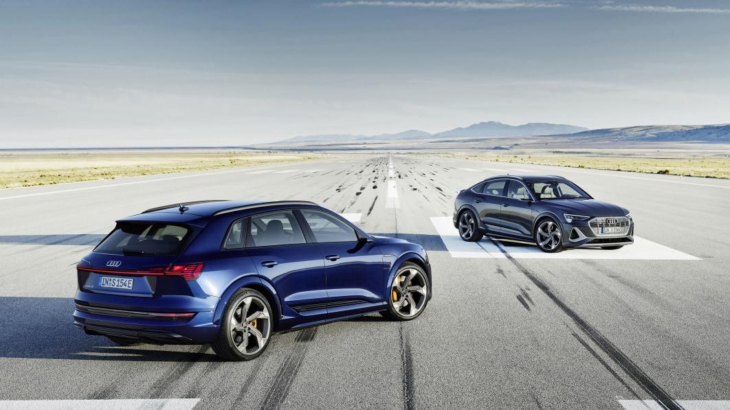 2022 Audi E-Tron S kostet 85.895 Dollar und schafft 208 Meilen mit einer Ladung