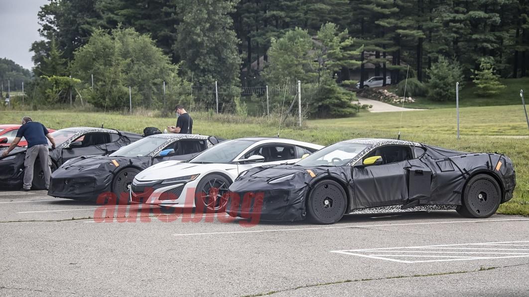Chevrolet Corvette E-Ray jetzt gerüchteweise mit rund 650 PS