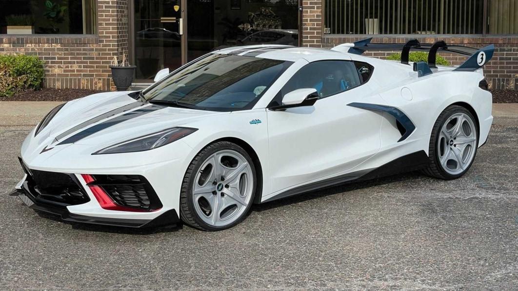 Lingenfelter's 60th Anniversary Cunningham Corvette sieht cool aus, klingt besser