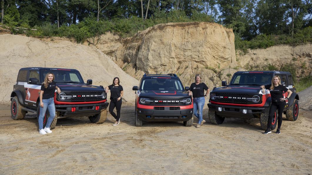 Ford nimmt mit zwei Broncos und einem Bronco Sport an der Rebelle-Rallye 2021 teil