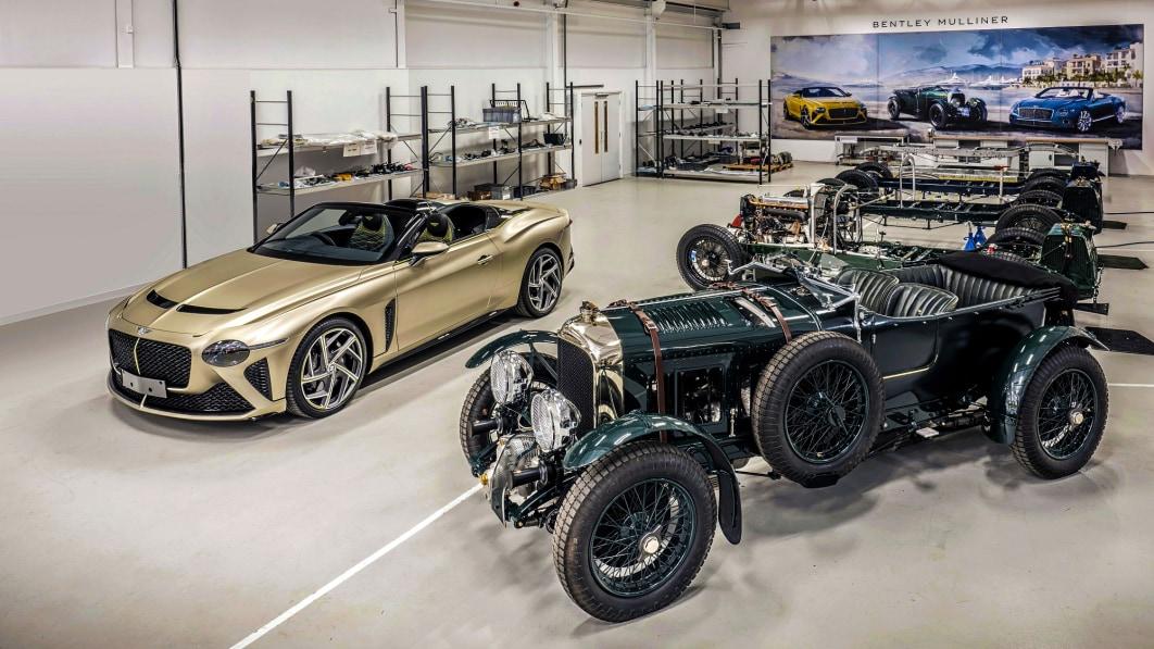 Bentley erreicht gleichzeitig zwei Meilensteine im Abstand von fast einem Jahrhundert