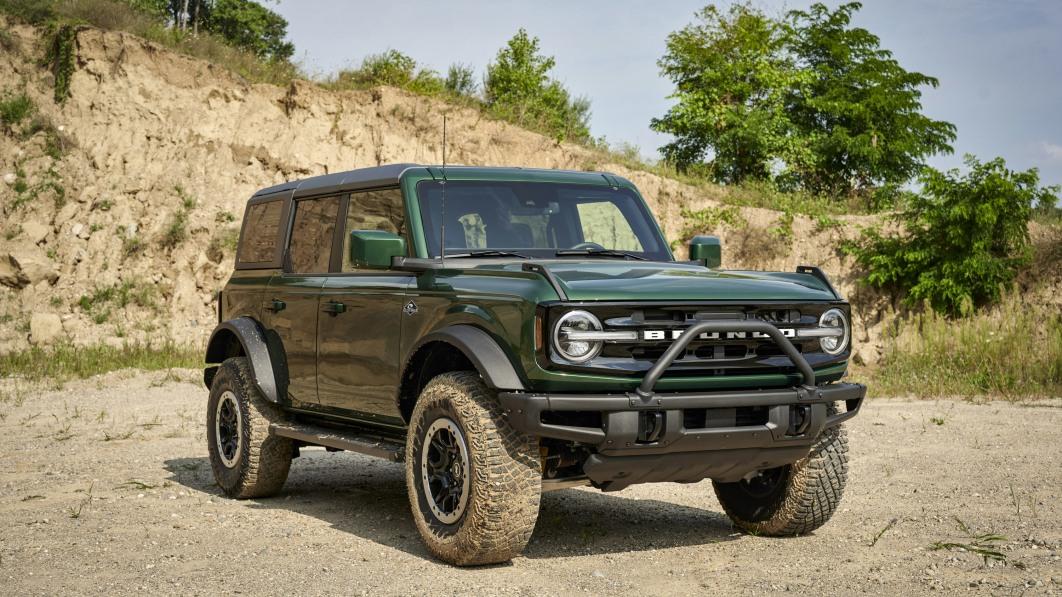 2022 Ford Bronco erweitert Farbpalette um Eruption Green Metallic