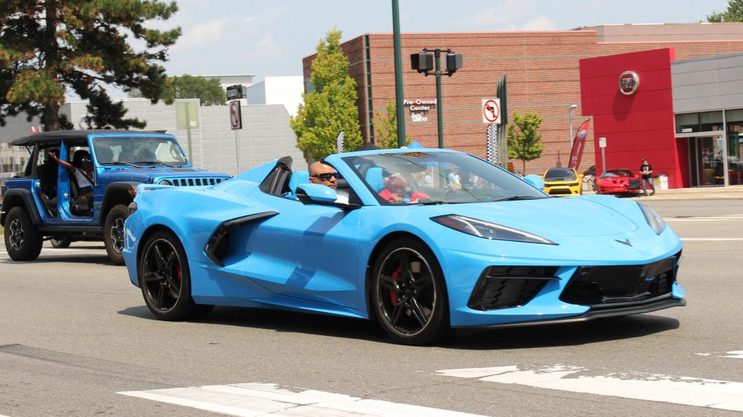 2022 Chevy Corvette verliert 3 mpg auf der Autobahn€