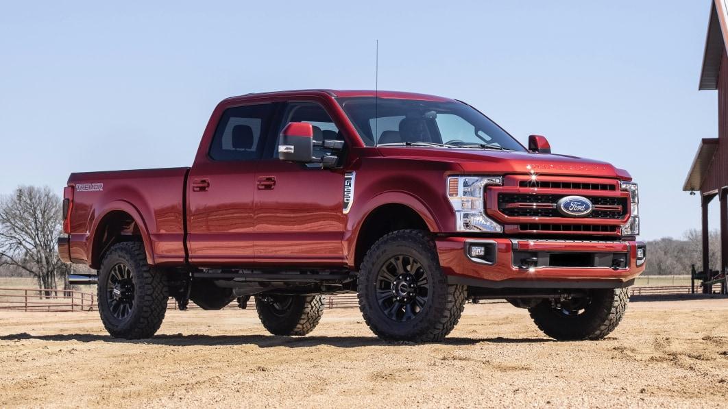 2022 Ford Super Duty Preise stiegen um weitere $250