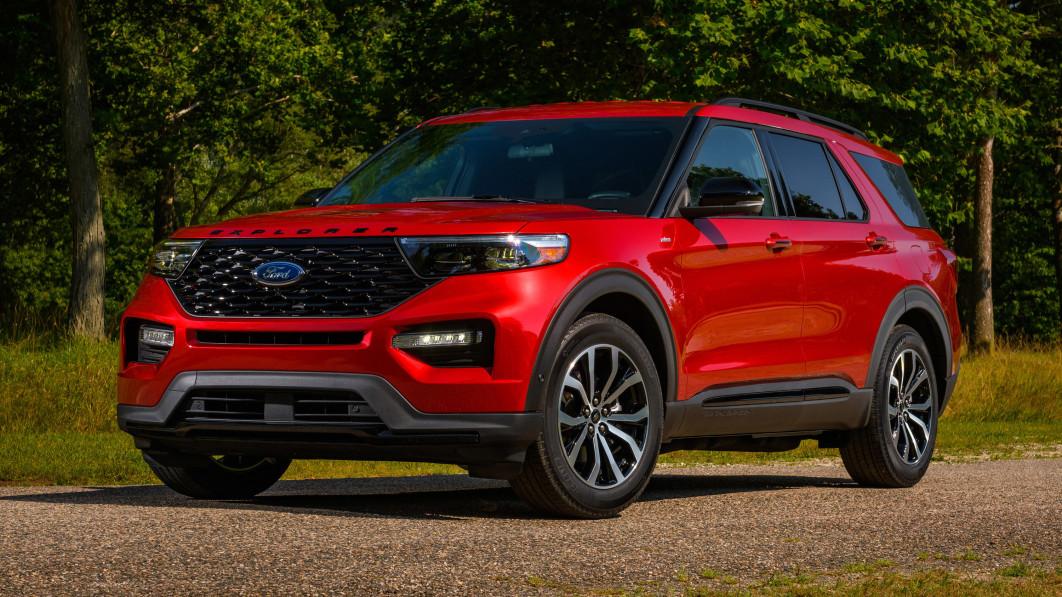 2022 Ford Explorer ST bekommt Hinterradantrieb, ST-Line bekommt Aussehen