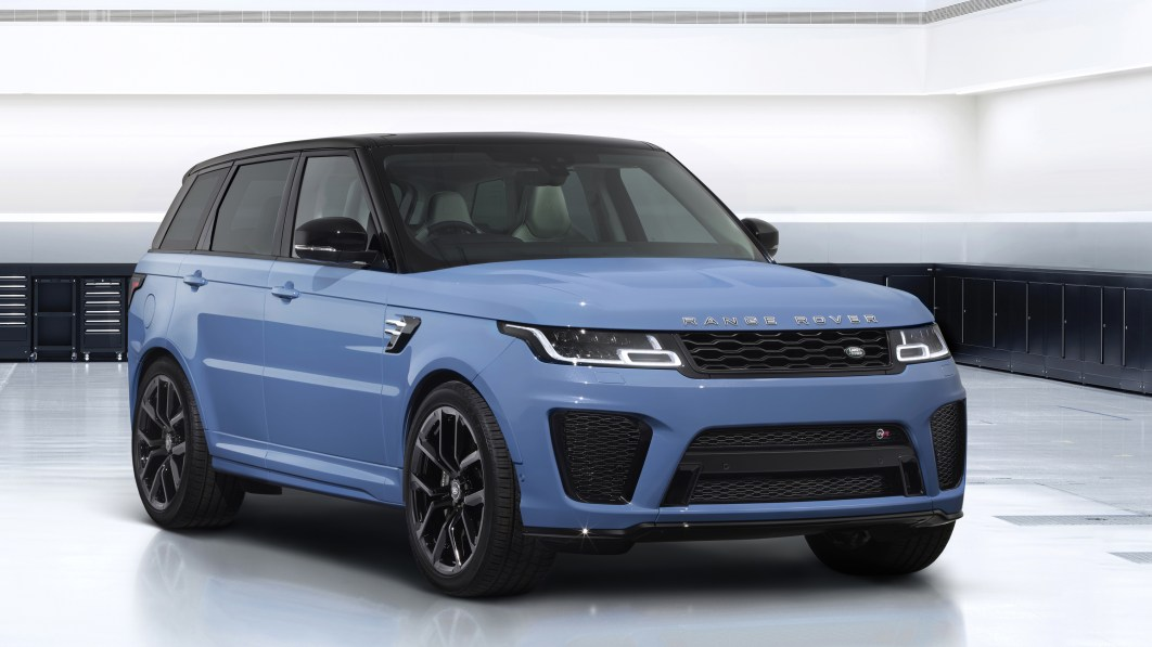 2022 Range Rover Sport SVR Ultimate continues the finale