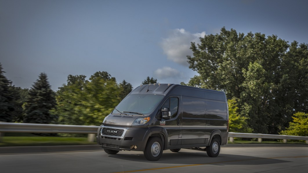 Ram ProMaster enters 2022 with tech upgrades and a new transmission
