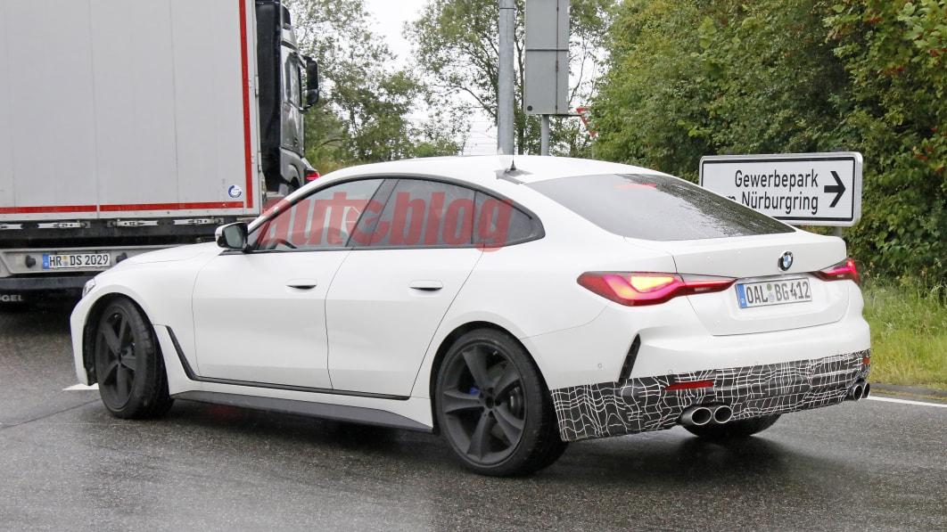 Alpina B4 Gran Coupe gesichtet, das aussieht wie eine abgespeckte M4-Alternative€