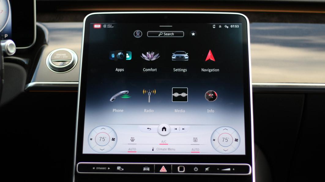 Mercedes-Benz MBUX Infotainment Test   Große Schritte nach vorn€