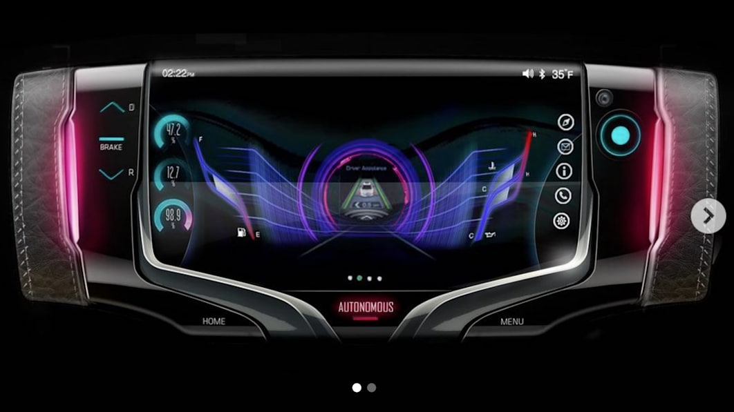 GM Design stellt sich ein lenkbares Nicht-Rad der Zukunft vor€