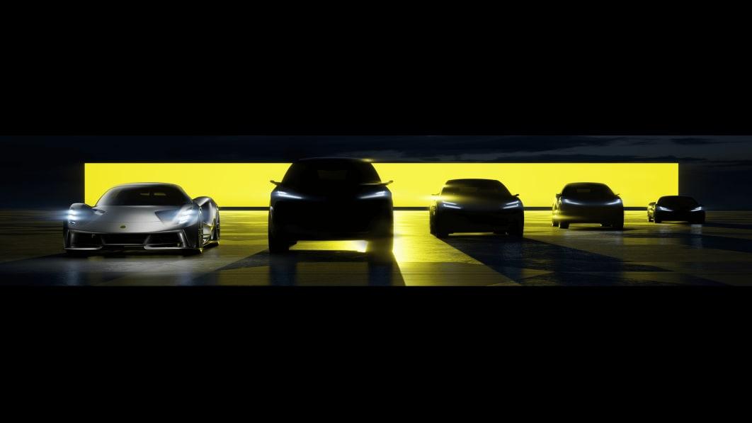 Lotus kündigt vier EVs an und verlegt seine Technologieabteilung nach China€