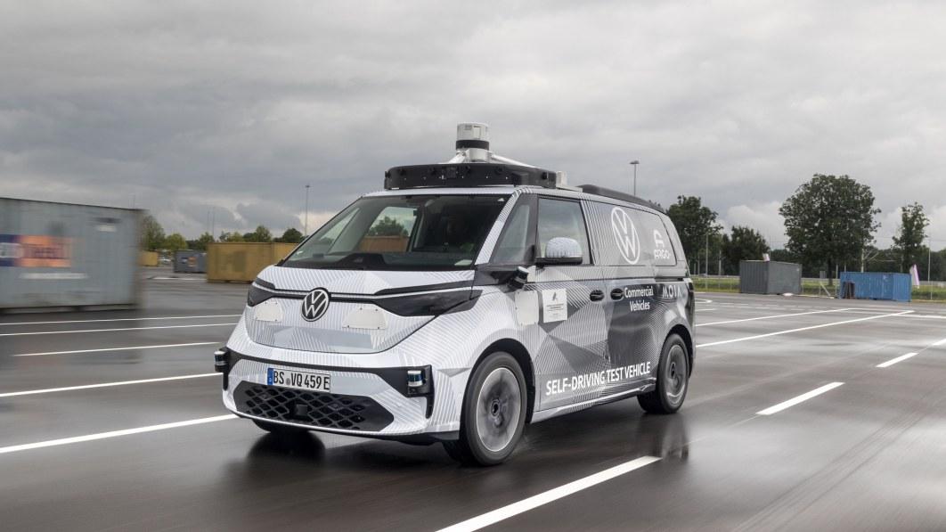 VW wird mit Argo KI-gesteuerte autonome ID.Buzz-Vans einsetzen€